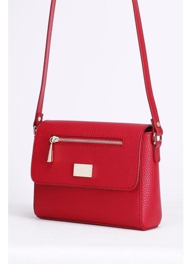 Marie Claire Postacı Çantası Kırmızı